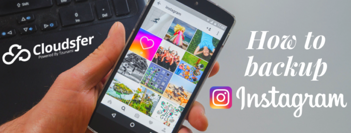 How to backup Instagram images?