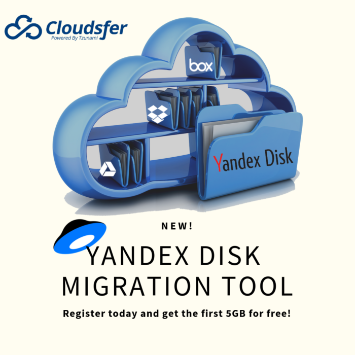 New! Yandex Disk migration tool - Cloudsfer