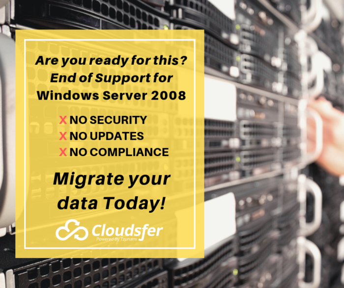 How to prepare for Windows Server 2008 End of Life?