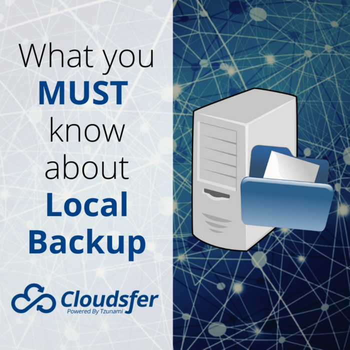 What you MUST know about Local Backup